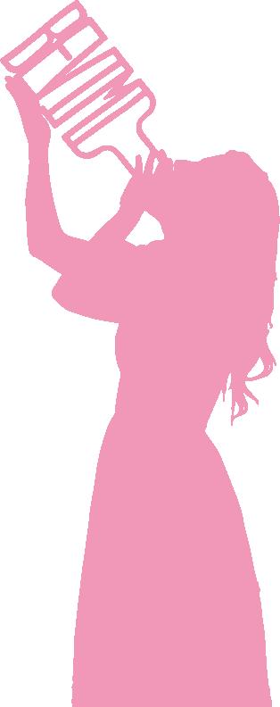 silhouette_alice_rosa